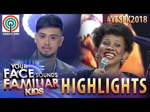 YFSF Kids 2018 Highlights: Billy, Natuwa Sa Pagbabalik Ni Awra