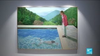 Sale of Hockney painting smashes records at $90.3 million