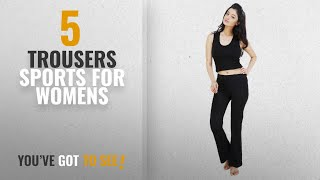 Top 10 Trousers Sports For Womens 2018 Nite Flite Women 39 s Black Foldover Yoga Pants