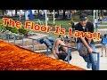 FLOOR IS LAVA CHALLENGE EN PÚBLICO (EL SUELO ES LAVA)