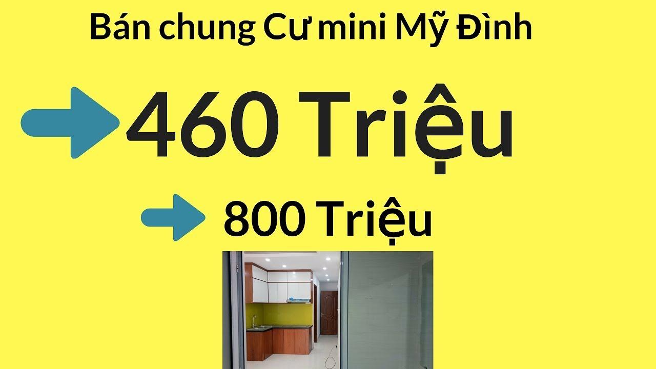 Bán chung cư mini Mỹ Đình - Nguyễn Hoàng từ 460tr - 800tr/căn