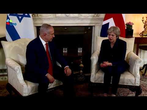 PM Netanyahu meets with British PM May