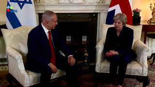 PM Netanyahu meets with British PM May
