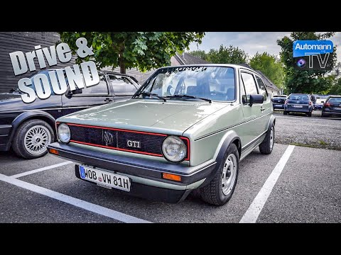 VW Golf Mk1 GTI (112hp) - DRIVE & SOUND (60FPS) from YouTube · Duration:  3 minutes 20 seconds