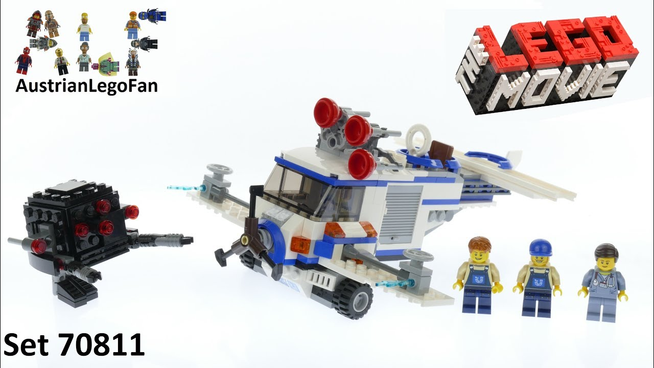 Lego The Movie 70811 The Flying Flusher Lego Speed Build Review Youtube