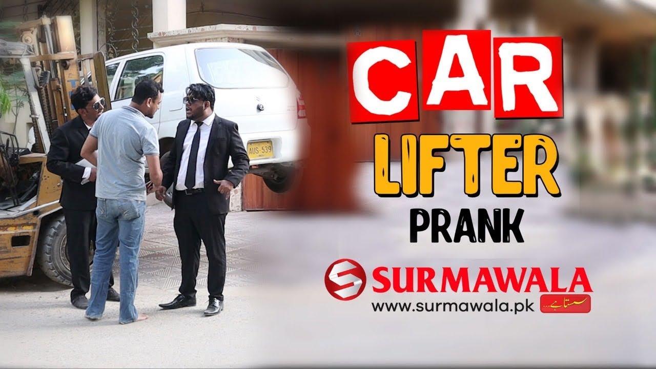 | Car Lifter Prank | By Nadir Ali & Farukh Buddha in | P 4 Pakao | 2020