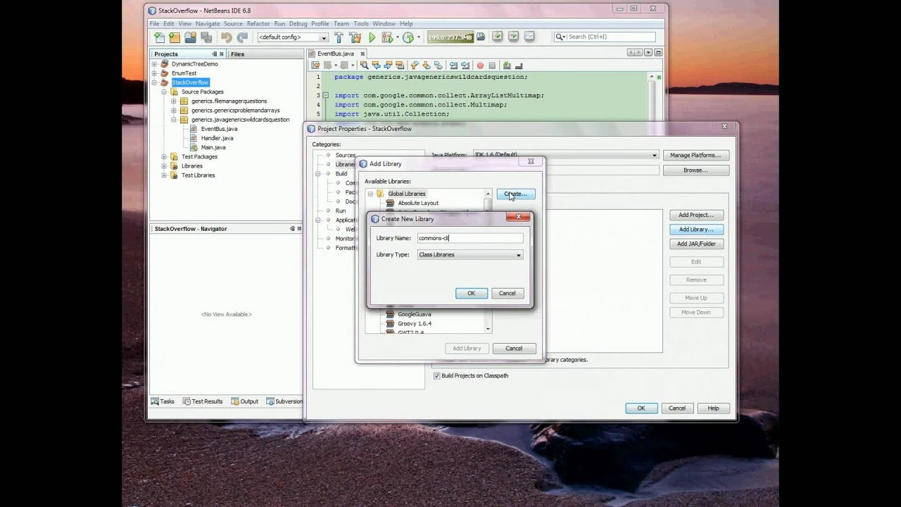 How-To Add Library To NetBeans Project