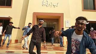 Zombie Walk at University of Gujrat Lahore Sub Campus