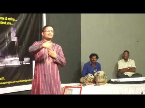 Yatri's KHULA MANCH 2nd Anniversary - Poem on Mumbai by Rakesh Tiwari