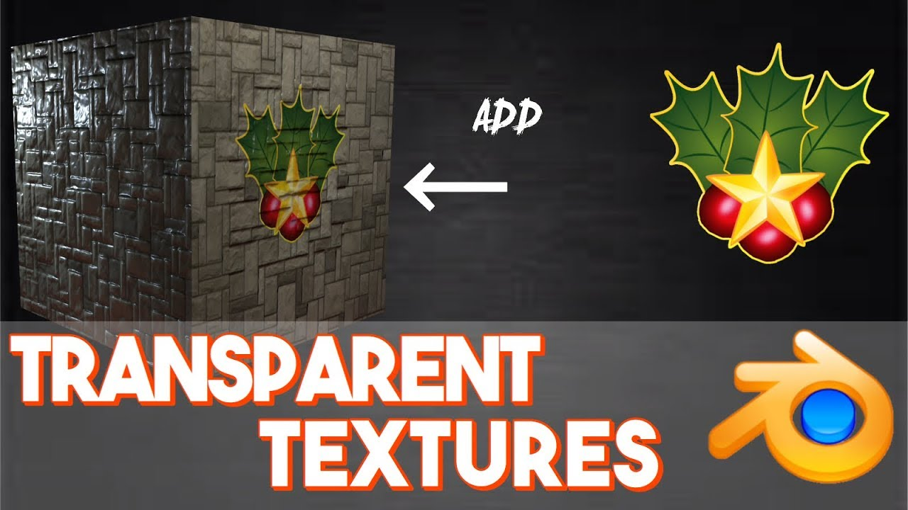 How To Put Transparent Images On To Textures Uv Mapping