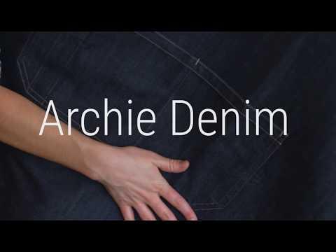 Archie Denim Apron 👨🍳👩🍳 By Aussie Chef Clothing Company Australia
