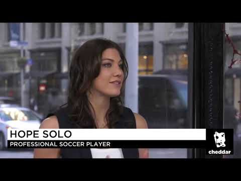 Hope Solo is Running for U.S. Soccer President