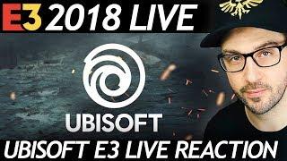 UBISOFT CONFERENCE LIVE REACTION - E3 2018 | JKB LIVE