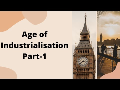 Part1 Class 10 history ch5 Age of industrialisation