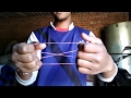 Rubber band magic trick revealed: in Hindi