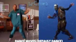 FORTNITE DANCES IN REAL LIFE!! Fortnite Battle Royale 2018