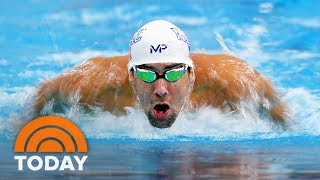 Michael Phelps Didn't Race A REAL Shark, Which Disappointed Some | TODAY