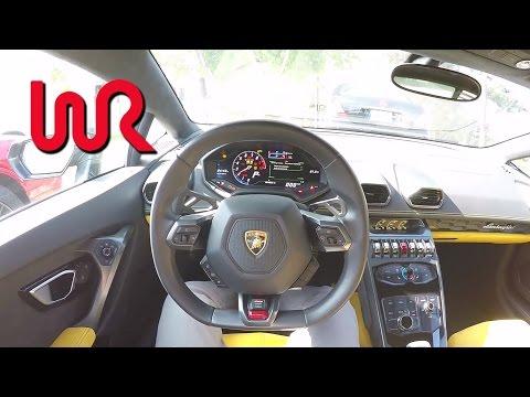 2015 Lamborghini Huracán LP 610-4 - WR TV POV City Drive