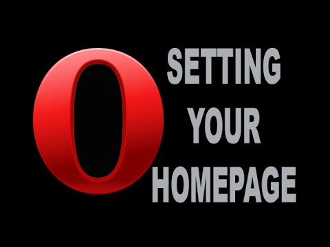 Opera Set Homepage #001