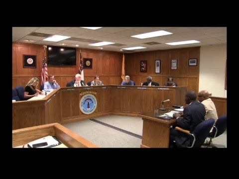Bladen County Commissioners talk about Bladen County School Consolidations