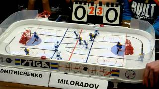Table Hockey. Настольный хоккей. Moscow Open 2013. Dmitrichenko-Miloradov. Final. Game 6