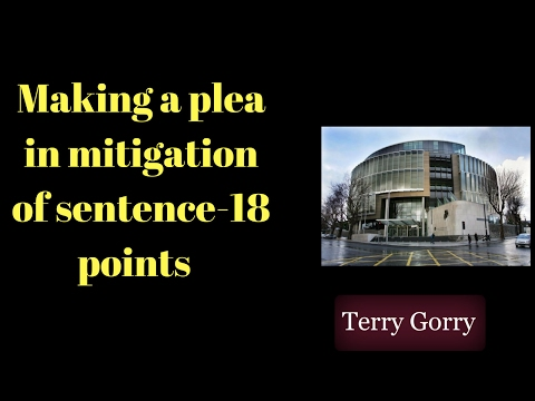 Making a Plea in Mitigation of Sentence in Irish Law-18 Points Worth Considering