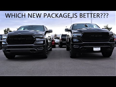 2020 Ram 1500 Limited Black Appearance Group Vs 2020 Ram 1500 Laramie Night Edition!