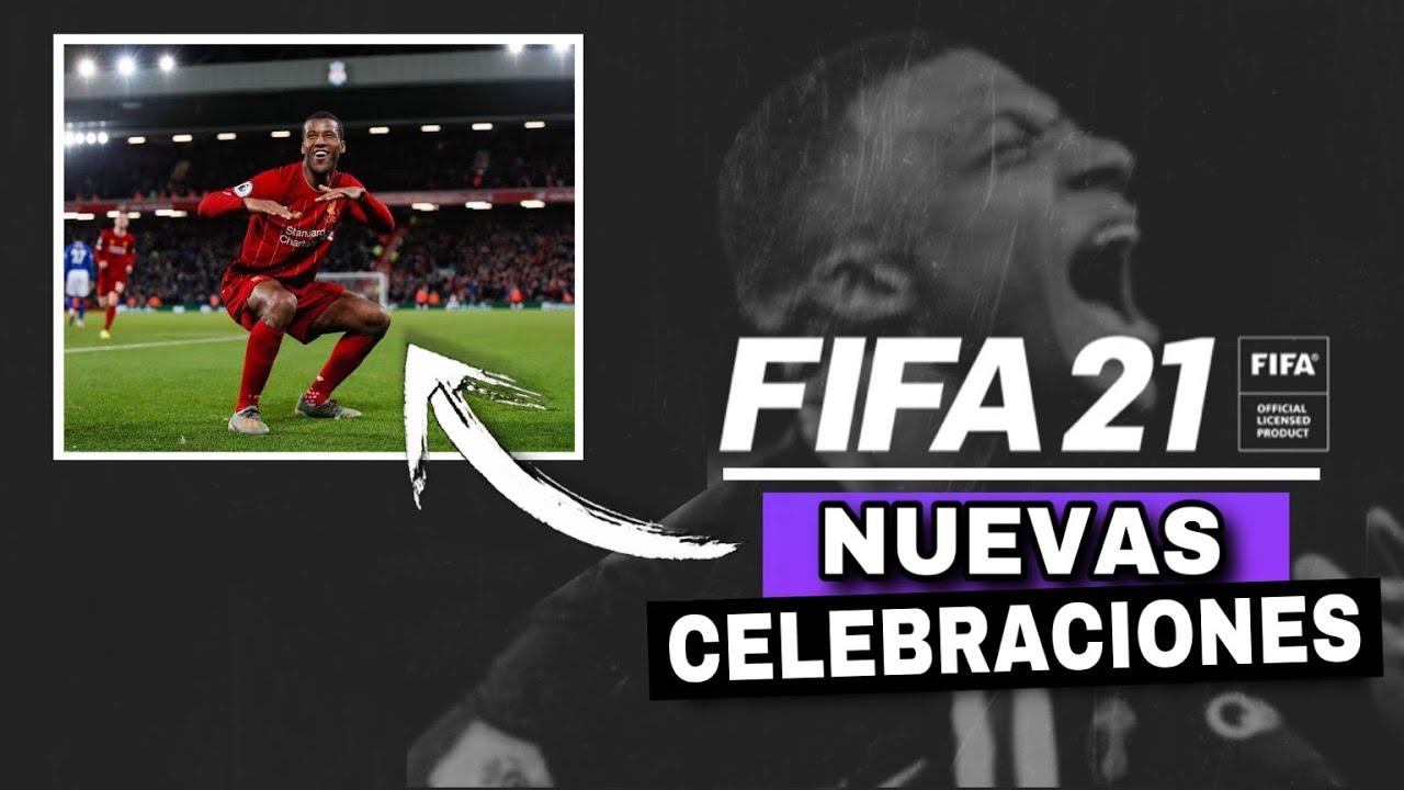 NUEVAS CELEBRACIONES QUE ESTARÁN DISPONIBLES EN FIFA 21 | LA ÚLTIMA ES ÉPICA