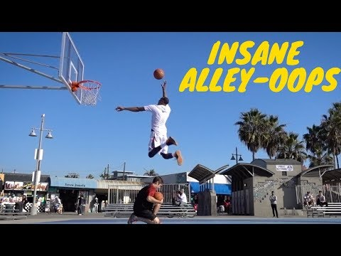 ALLEY-OOP DUNK SESSION w/ Chris Staples At Venice Beach