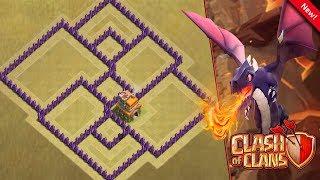 Clash of Clans - Novo Layout de ''GUERRA'' para Cv7 ''2018''