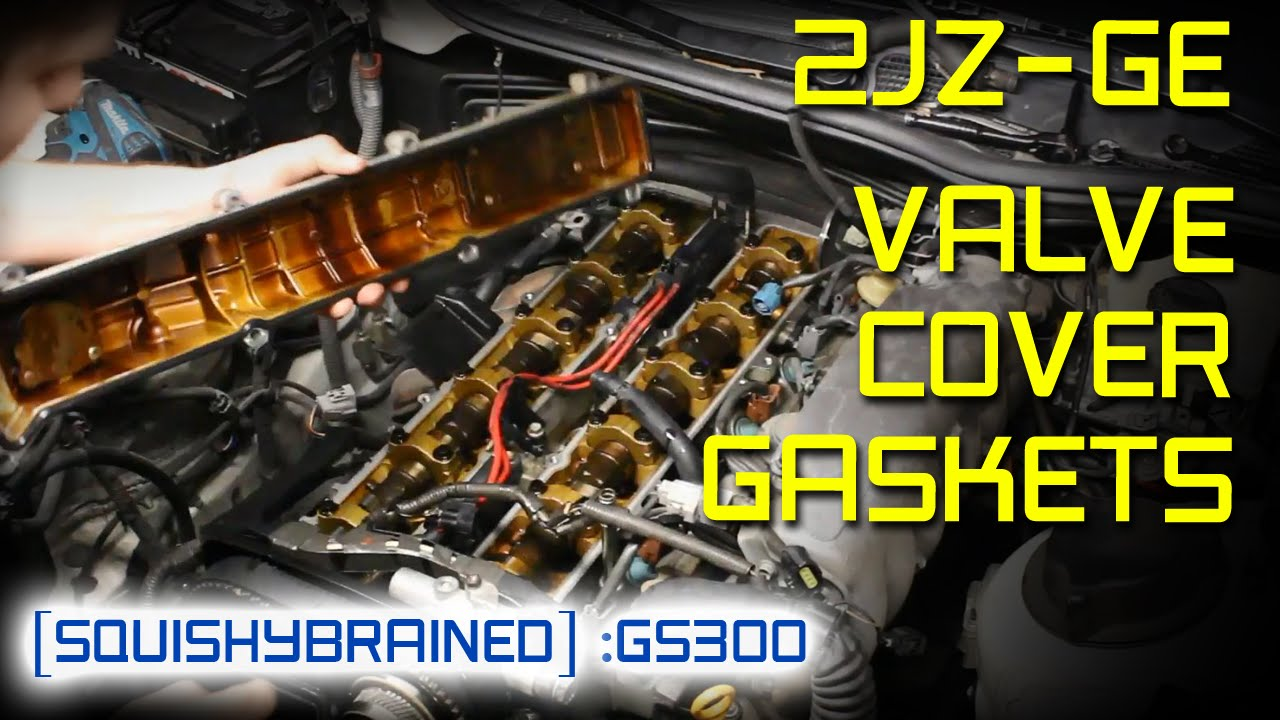 maxresdefault lexus gs300 (2jz ge) valve cover gasket and spark plugs youtube  at edmiracle.co