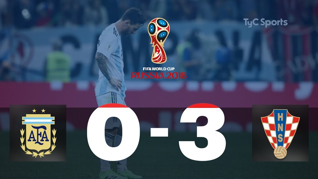 Highlights Argentina vs. Croacia | #TyCSportsMundial
