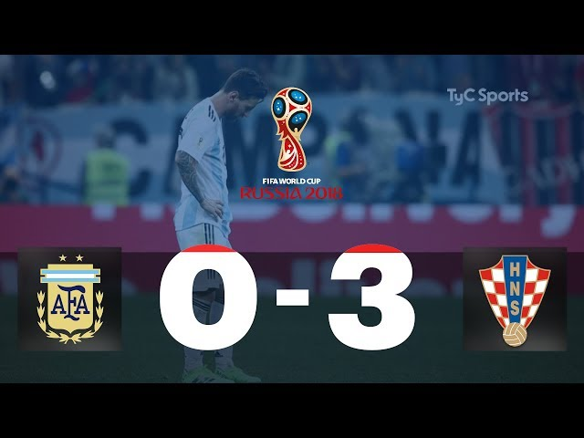 Highlights Argentina vs. Croacia   #TyCSportsMundial