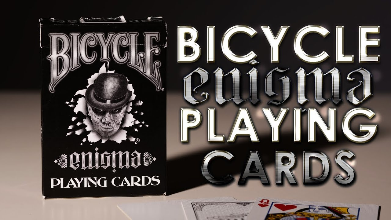 Deck Review Bicycle Enigma Playing Cards By Martin Adams