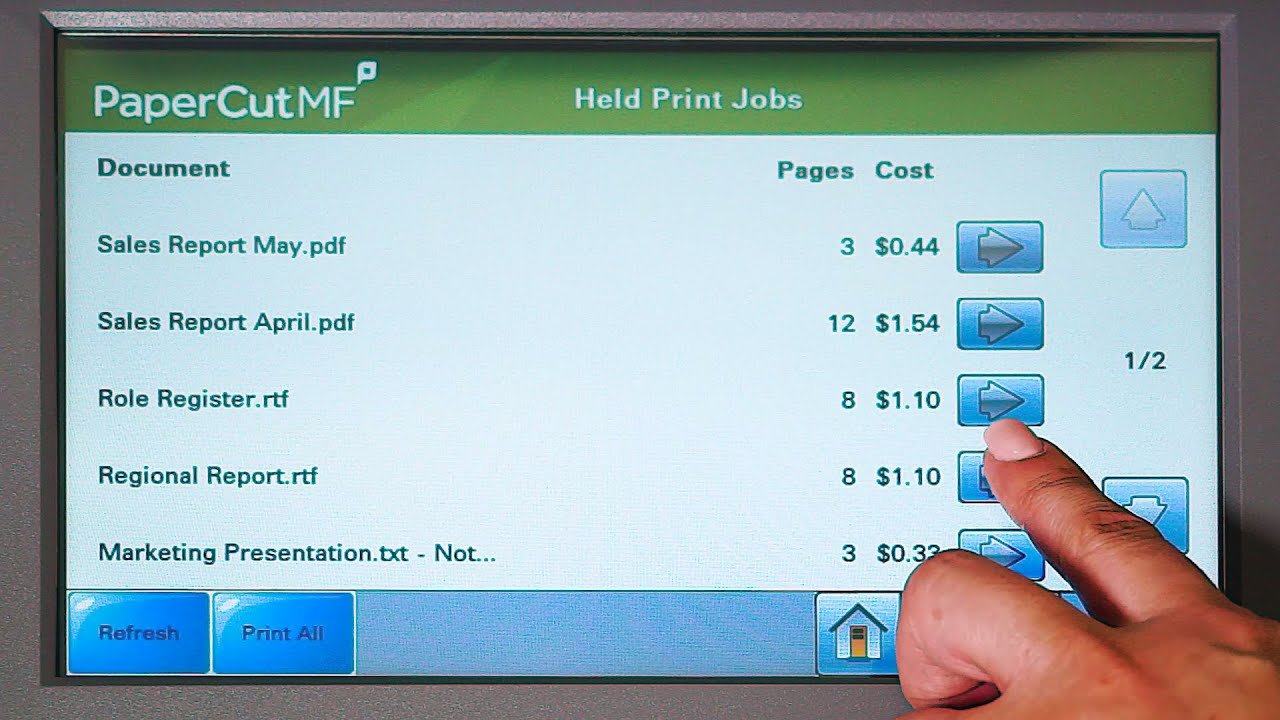 PaperCut MF - print, copy and scanning control for Lexmark MFDs