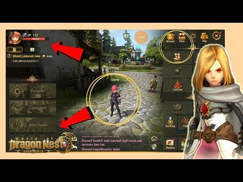 Review Jujur | World of DRAGON NEST Mobile CBT MMORPG Android Indonesia