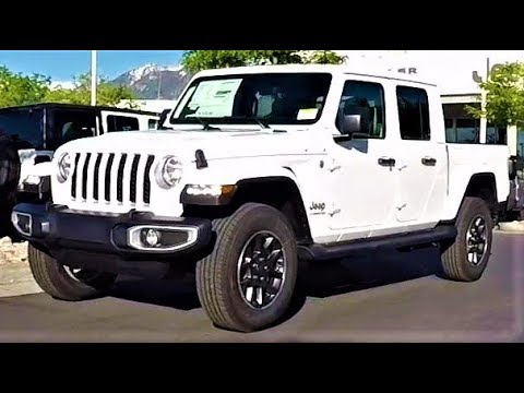 2020 Jeep Gladiator Overland: The Luxury Gladiator For The Road!