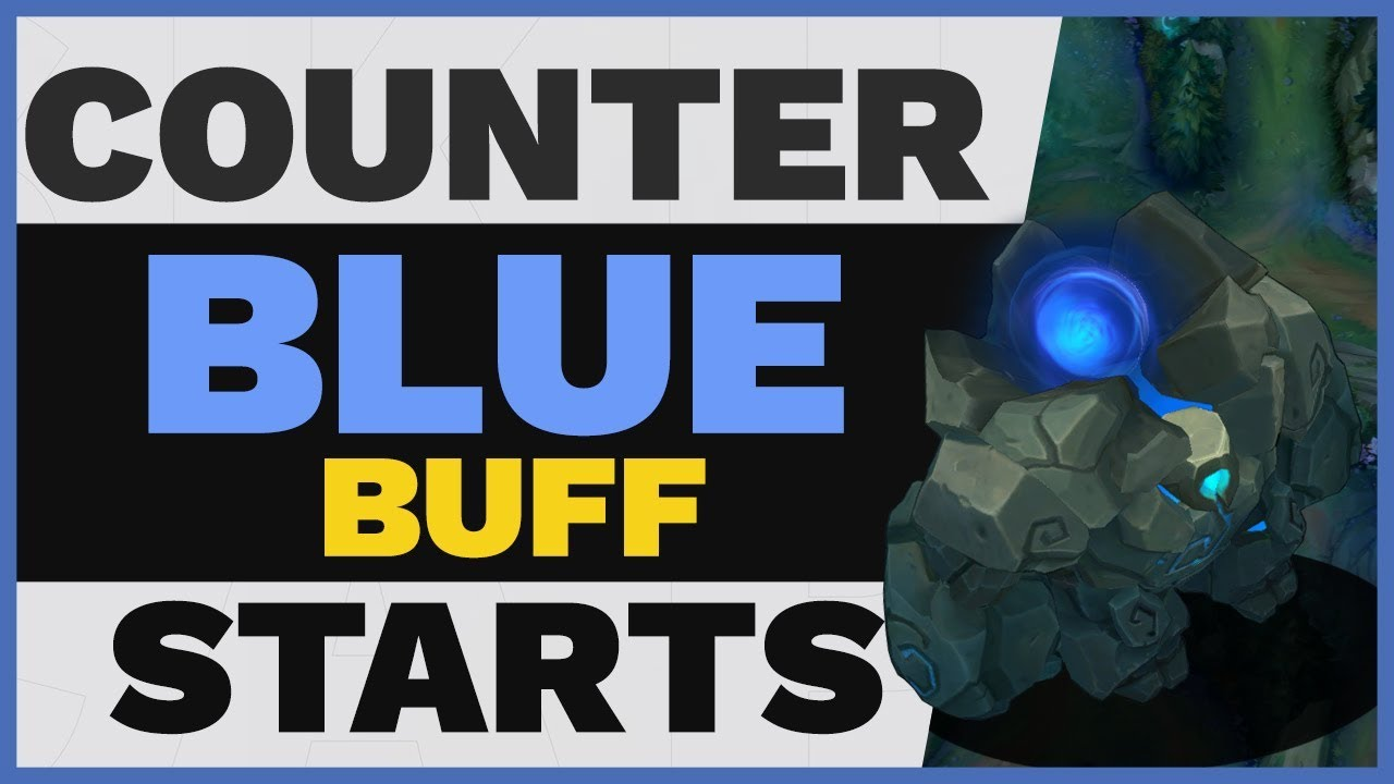 How To Counter Junglers Who Start Blue Buff Youtube