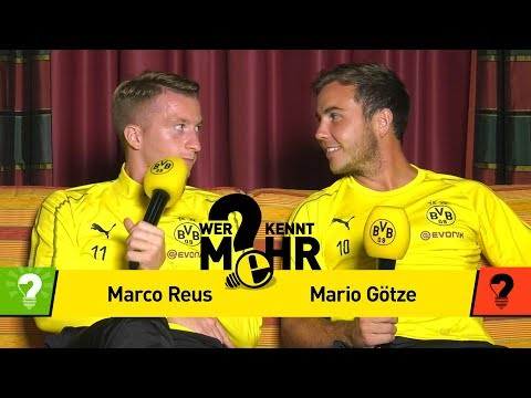 Marco Reus vs. Mario Götze | Who knows more?