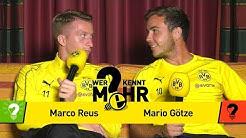 Marco Reus vs. Mario Götze | Who knows more? - The BVB-Duel