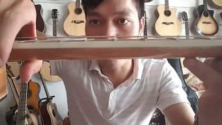 Đàn guitar gỗ Điệp. Mã D1k. Giá 2300k