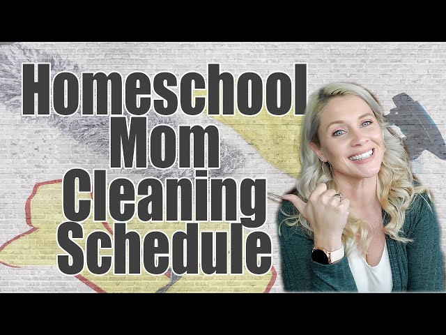 HOMESCHOOL MOM CLEANING SCHEDULE | Cleaning Routine 2020 | Themed Cleaning Days | Family Chores