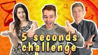 5 SECONDS CHALLENGE *98,5% nemoguće!* / Bruno Lukić, Magic Leon & Mr. Mončina
