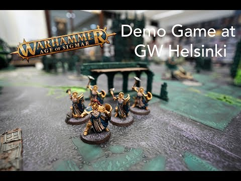 Age of Sigmar Soul Wars Demogame |Games Workshop Helsinki