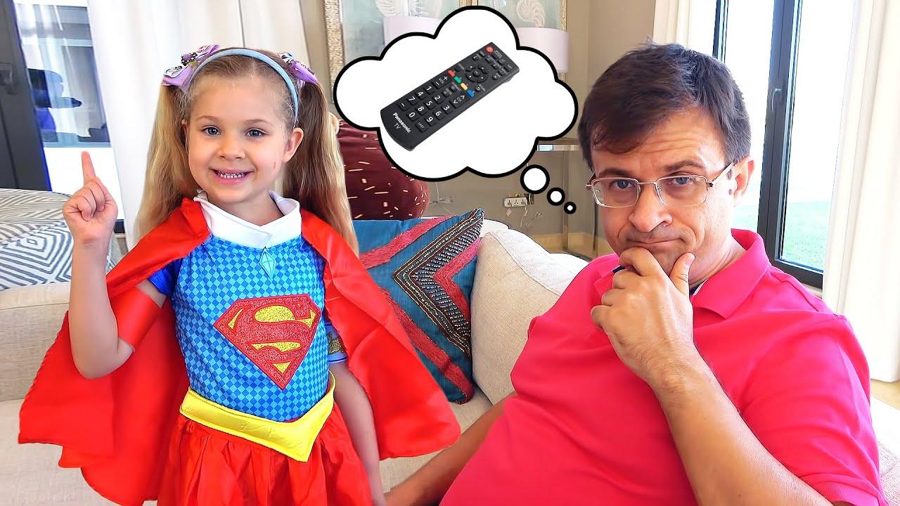 ダイアナ、スーパーヒーローになって友達を助ける!