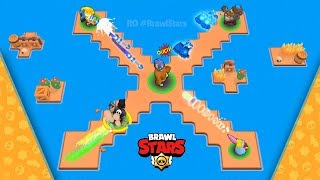 NO WAY OUT 👊 Brawl Stars 2019 Funny Moments Fails And Glitches   RO BrawlStars