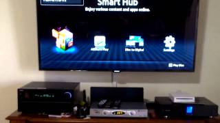 how to use onkyo remote with samsung tv review