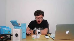 Camera giám sát Minion siêu dễ thương - Camera IP Wifi NetCAM NR02 1080P
