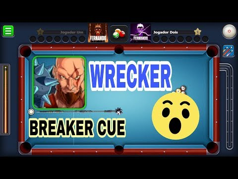 8  Ball Poll  - WRECKER AVATAR - BREAK CUE - NEW UPDATE