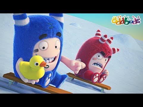 Oddbods | Whimsical Winter | Funny Cartoons For Children